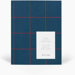 Uma Flatlay Dark Blue Notebook by Notem