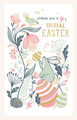 Bunny on Egg Special Easter Pack of 6 Cards
