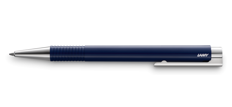 LAMY Logo M+ Ballpoint Pen Night Blue