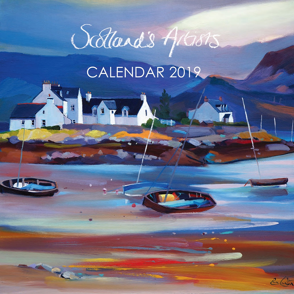 2019 Scotland S Artists Wall Calendar Paper Tiger