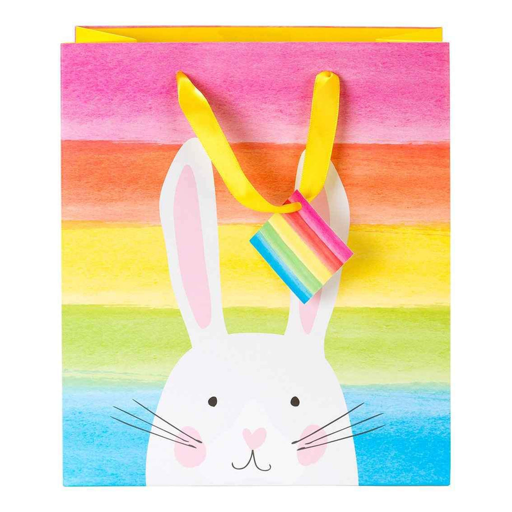 Easter Bunny Rainbow Gift Bag