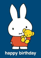 Miffy and her Teddy Card