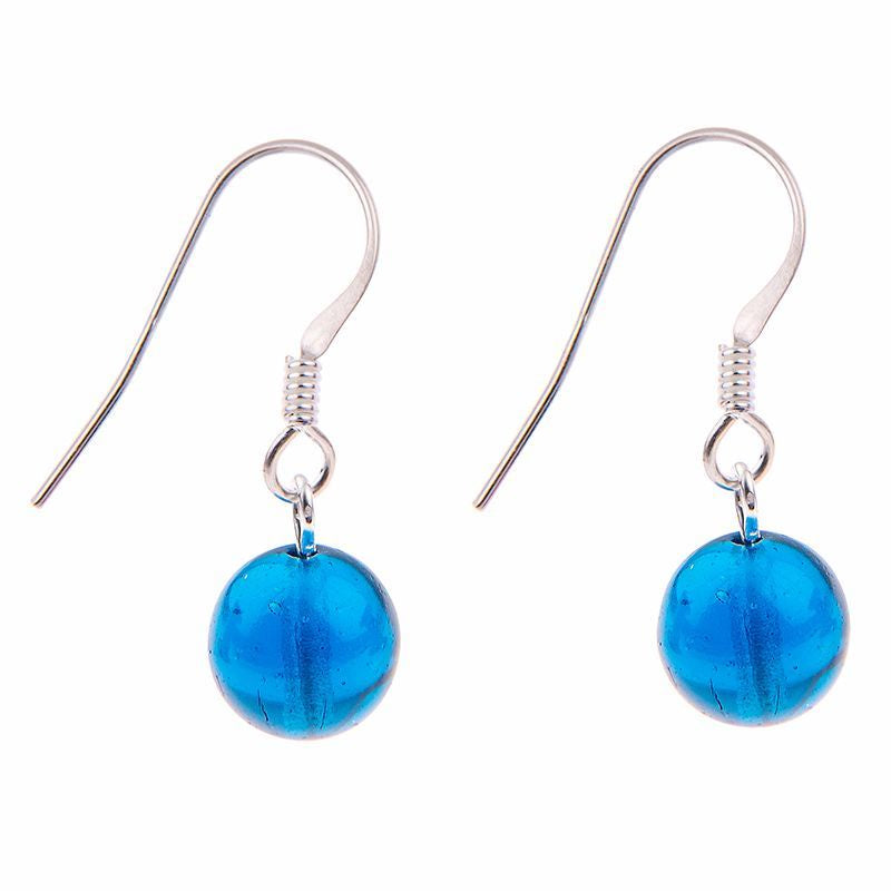 Carrie Elspeth Blue Galaxy Earrings