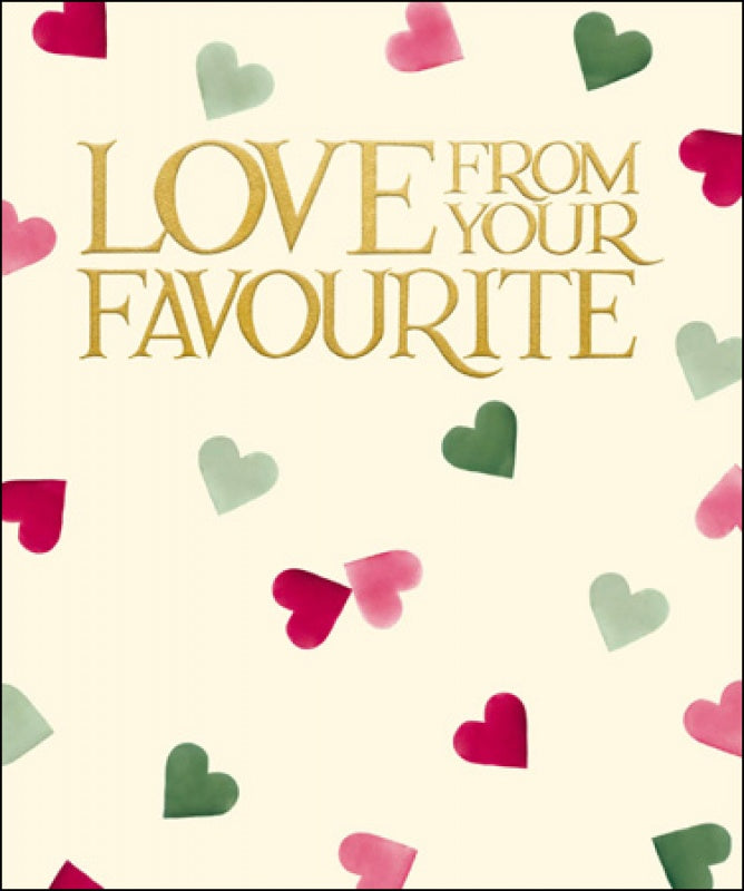 Emma Bridgewater Love From Your Favourite Mother's Day Card