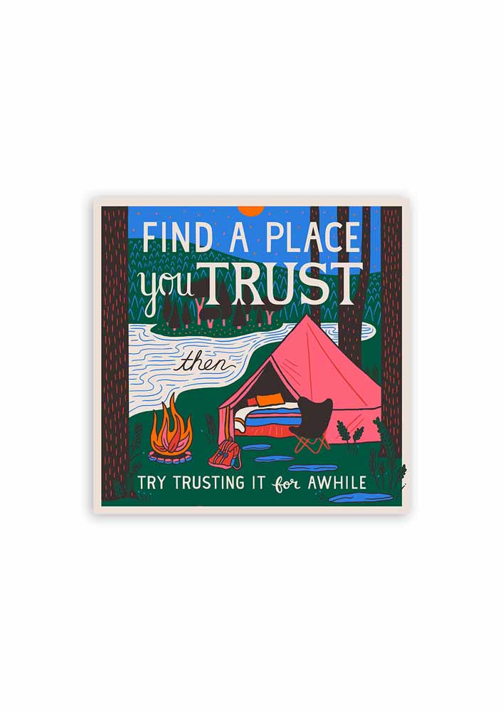 Find a Place You Trust Card