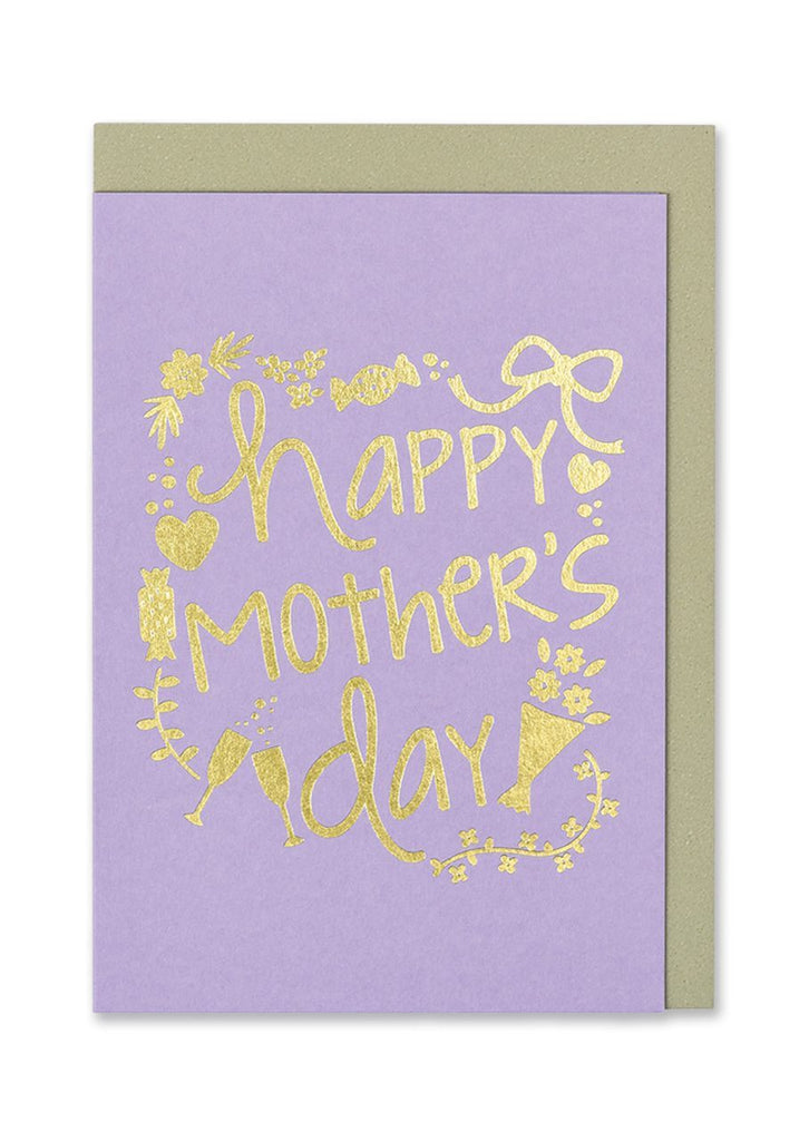 Happy Mother's Day Gold Foiled Card