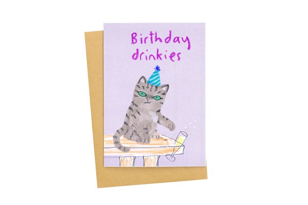 Birthday Drinkies Card