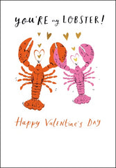 You're my Lobster! Valentine's Day Card
