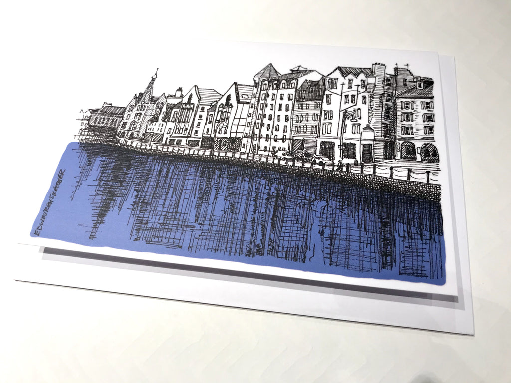 Leith Sketch Card