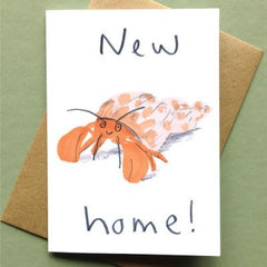New Home Lobster Card