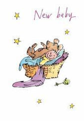Quentin Blake New Baby Card
