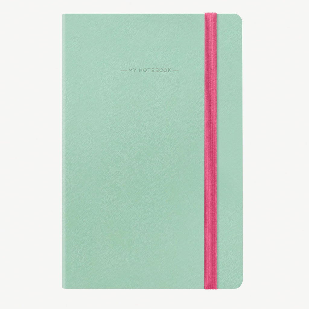 Medium Dotted Aqua Notebook