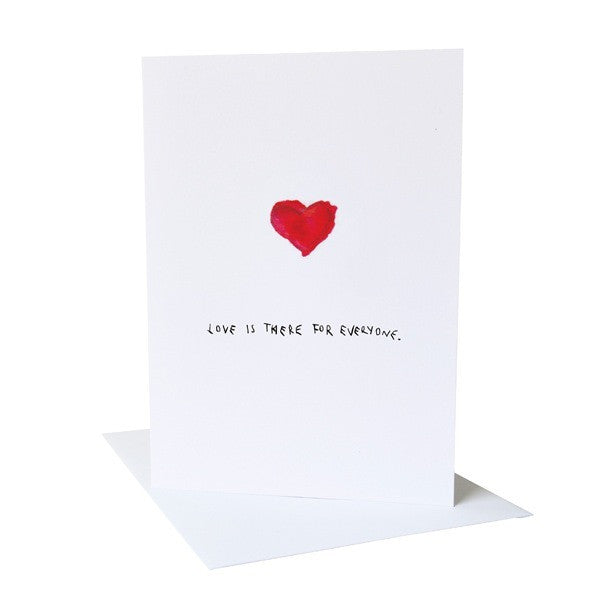 Love Is There For Everyone Card