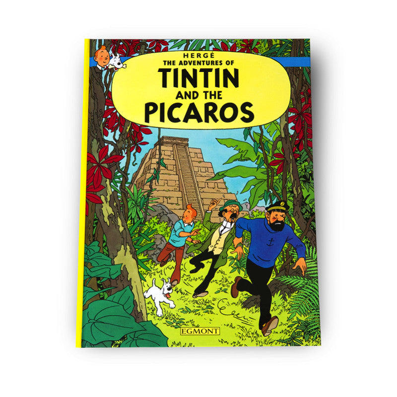 Tintin and The Picaros Softback Book