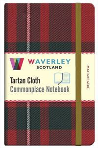 Tartan Cloth Notebook - MacGregor