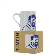 Captain Haddock Blue Line Mug