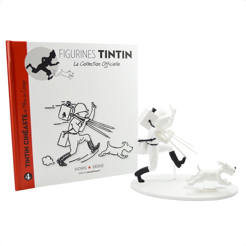 Monochrome Tintin in the Congo