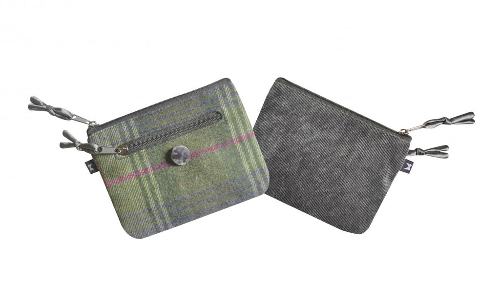 Forest Flower Tweed Emily Purse