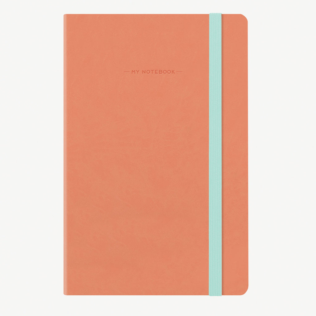 Medium Dotted Salmon Notebook