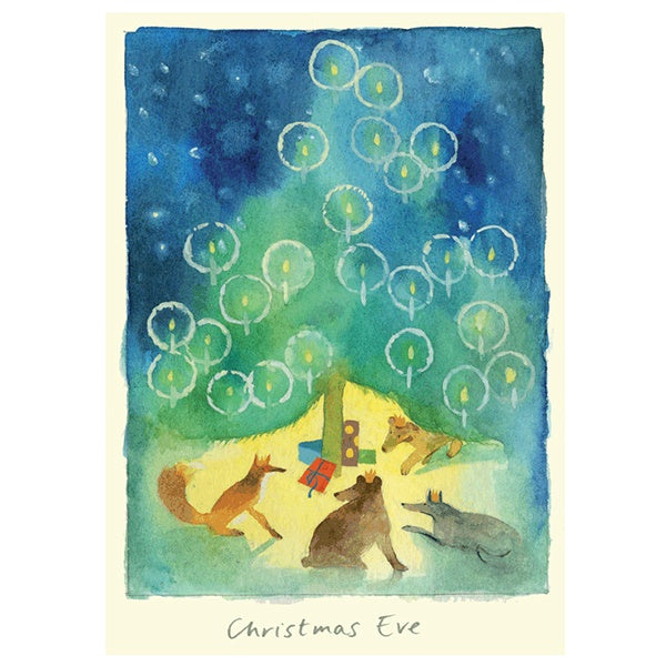 Christmas Eve Animals Card
