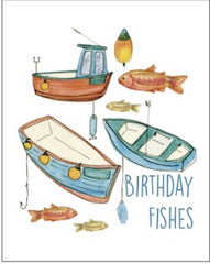 Birthday Fishes Seed Card