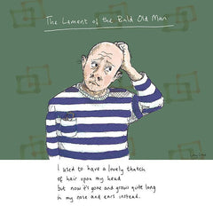 The Lament of the Bald Old Man Card