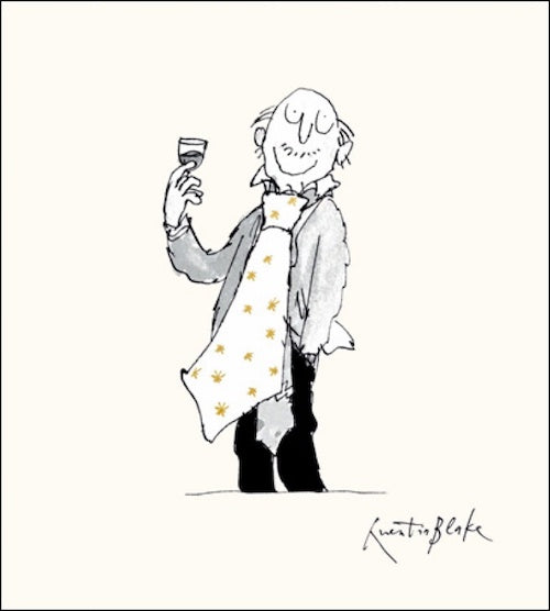 Giant Tie Quentin Blake Card