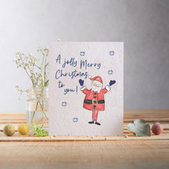 A Jolly Merry Christmas to You Seed Card