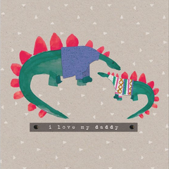 Dinosaurs for Daddy Card