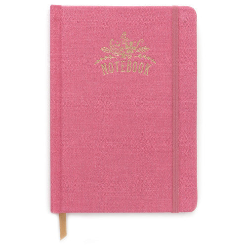 Pink Cloth Notebook