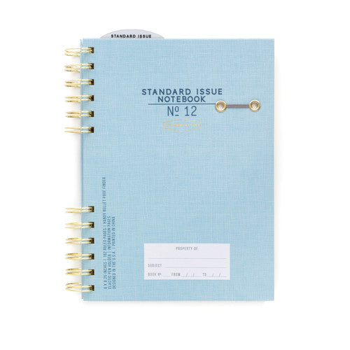 Standard Issue Notebook No12 - Blue