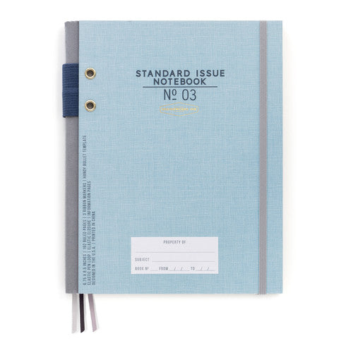 Standard Issue Notebook No. 03 - Blue