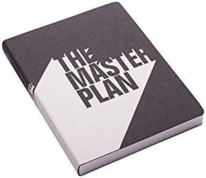 The Master Plan Large Leather Notebook
