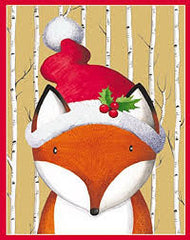 Foxy Pack of 4 Gift Tags