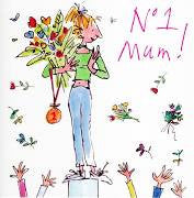 No.1 Mum! Mother's Day Card