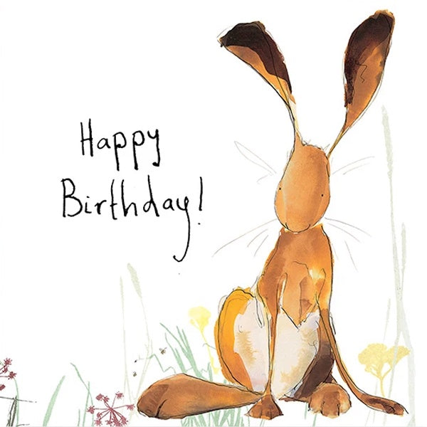 Harris Happy Birthday Card by Catherine Rayner