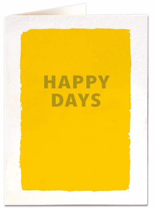 Happy Days Card