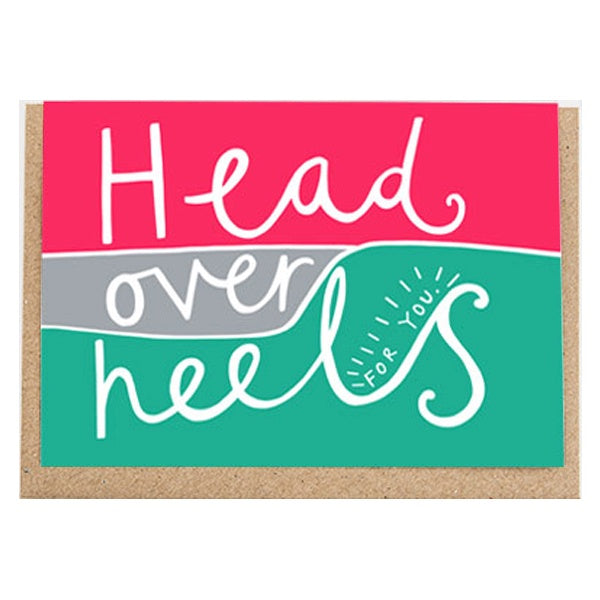Head Over Heels Card