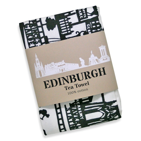 Edinburgh New Town Tea Towel
