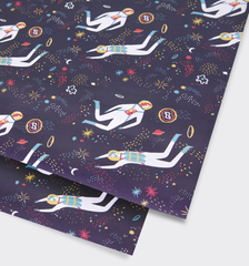 Cosmic Sheet Wrap