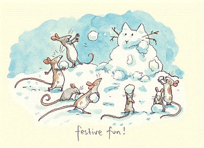 Festive Fun Christmas Card