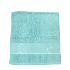 Tintin Bath Sheet Aqua Towel