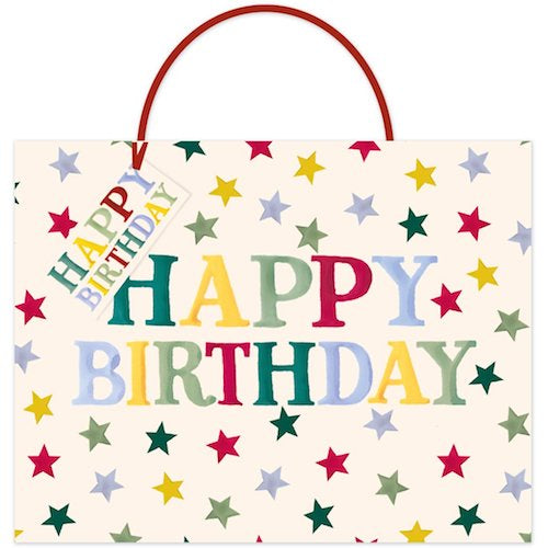 Emma Bridgewater Happy Birthday Large Gift Bag