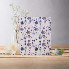 Cornflowers and Bells Seed Card