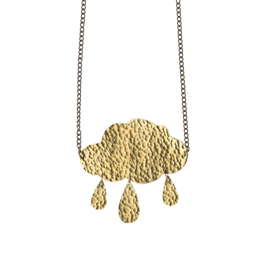 April Showers Cloud Necklace