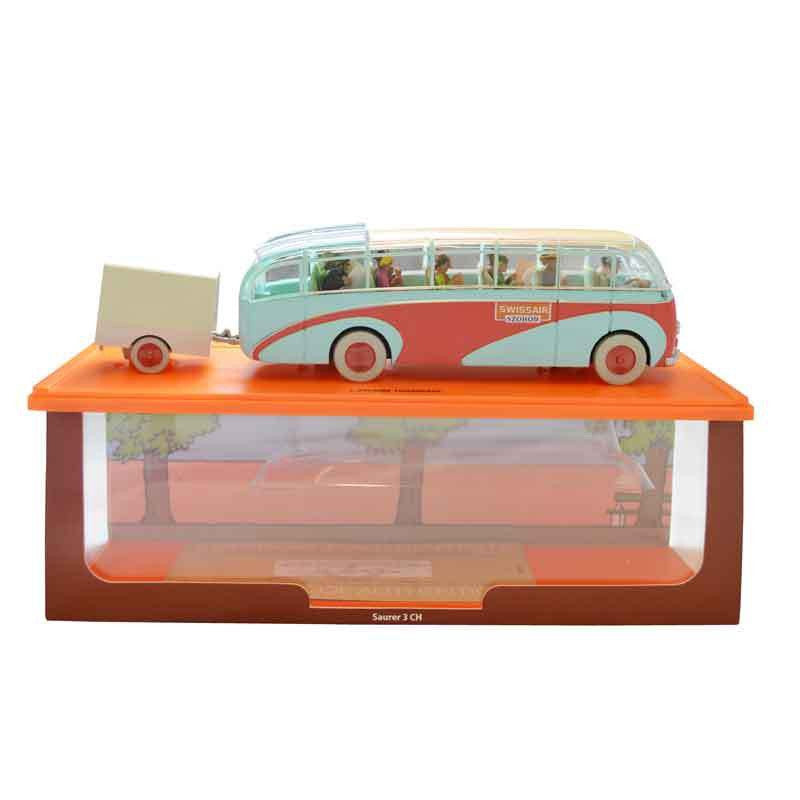 The Swissair Bus The Calculus Affair Die Cast