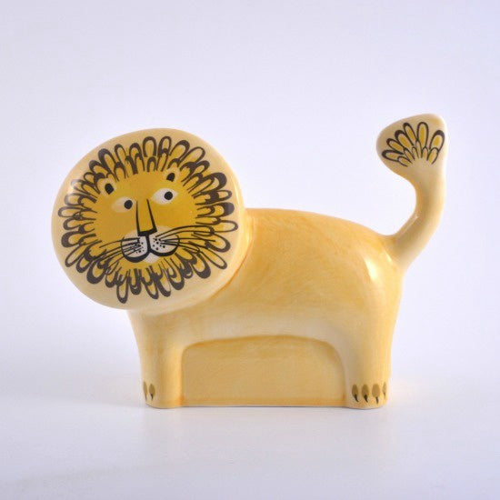 Ceramic Lion Money Box