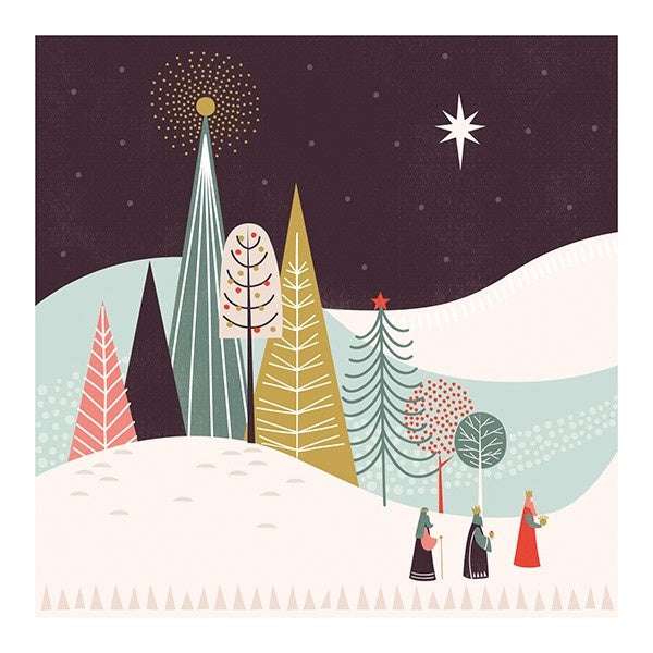 3 Wise Men Christmas Card Pack