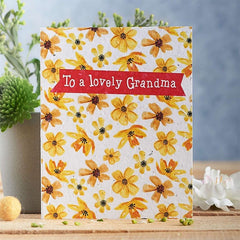 Lovely Grandma Seed Card