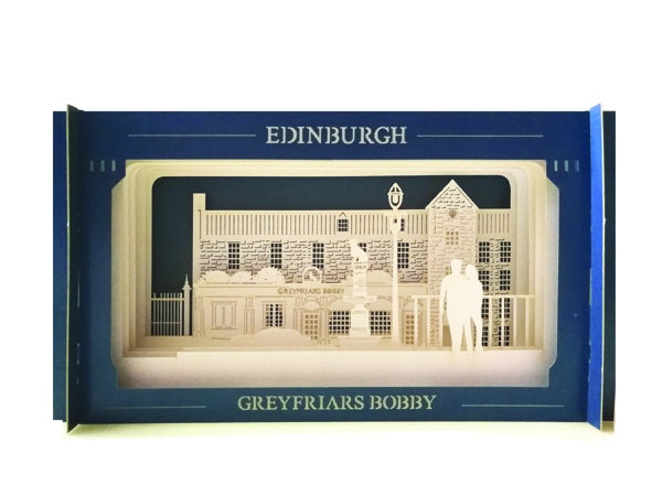 Greyfriars Bobby Pop-up Card